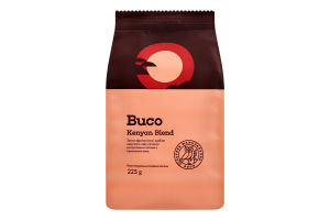 Кава натуральна смажена мелена Kenyan Blend Buco м/у 225г
