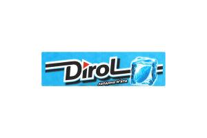 Гумка жувальна Dirol Фреш льодяна м'ята 13,6г