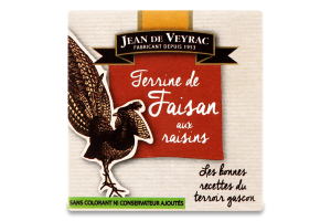 Террін з фазана з родзинками Jean de Veyrac к/у 65г