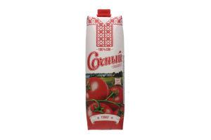 Сок Сочный томат 100%