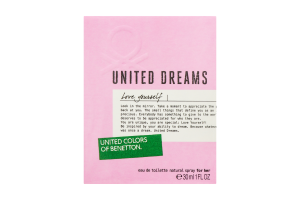 Benetton United Dreams Love Yourself жін.т/вода 30мл