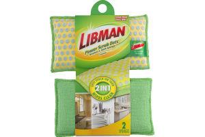 Libman Power Scrub Dots Kitchen & Bath Sponge - 2 CT