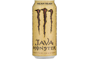Monster Java Coffee + Energy Mean Bean