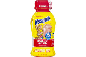 Nestle Nesquik Strawberry Low Fat Milk