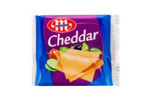 Сыр плавленый 49% Cheddar Mlekovita м/у 130г