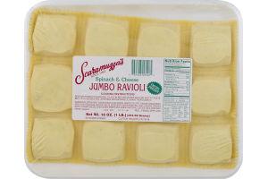 Scaramuzza's Jumbo Ravioli Spinach & Cheese