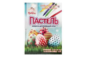 Набір барвників та воскових олівців Пастель Добрик 1шт