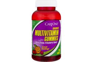 CareOne Children's Multivitamin Gummies Cherry, Orange & Raspberry - 180 CT