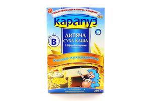Каша Карапуз рисово-кукурузная с бифидобактериями б/варки 250г