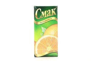 Сок апельсиновый Смак т/п 1л
