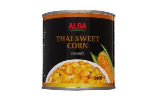 Кукурудза цукрова Alba Food з/б 340г
