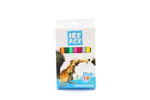 Фломастеры 18 цветов Ice Age Cool for School