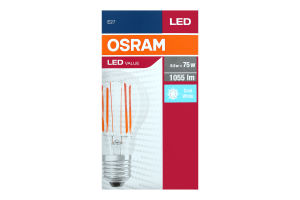 OSRAM лампа LED VALUE CLASSIC A75 FIL 8W 1055Lm 4000K E27
