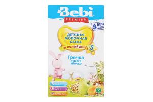 Каша дитяча молочна від 5 міс Гречка курага яблуко Premium Bebi к/у 200г