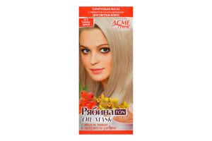 Маска тонирующая для волос Рябина Ton Светло-русый №012 Acme Color 1шт