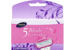 CareOne 5 Blade Cartridges - 4 CT