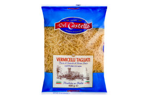 Изделия макаронные Vermicelli Tagliati Del Castello м/у 400г