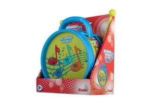 Іграшка для дітей від 3років Барабан Веселі ноти My music world Simba 1шт
