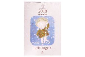 Календар 2019 little angels Gapchinska Світовид Maxi Діана плюс 1шт