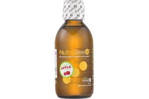 NutraSea+D Omega-3 Supplement with Vitamin D Crisp Apple Flavor