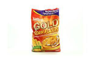 Хлопья Gold кукурузные 8 витаминов Nestle 500г