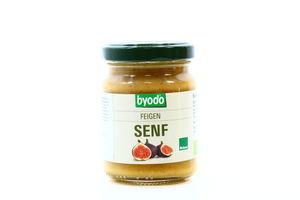 Горчица с инжиром органическая Byodo с/б 125мл