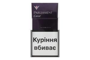 Сигареты с фильтром Purple Carat Parliament 20шт