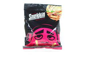 Сухарики со вкусом охотничьих колбасок Snekkin м/у 35г
