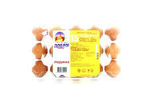 Яйца Семейные 1категория От доброй курицы 15шт