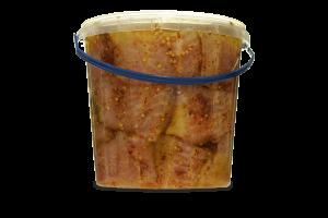 СОМ філе шматочки мариновані в оливковій олії 1/1000