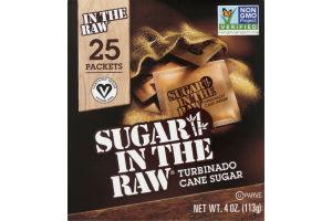 Sugar in the Raw Turbinado Cane Sugar - 25 CT