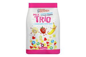 Сніданок готовий зі смаком малини, ванілі, банана Trio Mix Doctor Benner м/у 150г