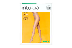 Колготки жіночі Intuicia T-Band 20den 4 vizone