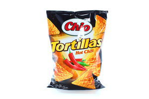 Чипсы Chio Tortilla chips chili 125г