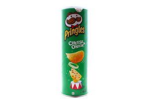 Чипсы со вкусом сыра и лука Pringles 165г