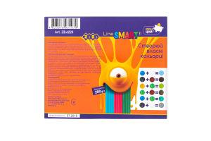 Набір пластиліну 10 кольорів для дітей від 3рок №ZB.6223 ZiBi 1шт