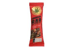"""Батончик - мюслі ТМ """"Cannabis Bar"""" з горіховим міксом + насіння канабісу"""