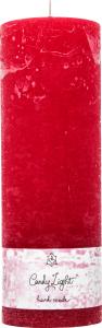 Свеча Candy Light цилиндр темно-красн С07*20/1-3.2