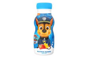 Йогурт 1.5% питьевой Малина-Ваниль Paw Patrol Danone п/бут 185г
