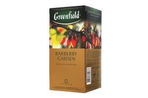 Чай чорний байховий дрібний з ягодами та ароматом барбарису Barberry Garden Greenfield к/у 25х1.5г