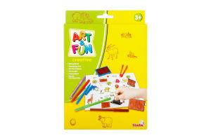 Набір штампів іграшковий для дітей від 3-х років великий Art&Fun Simba