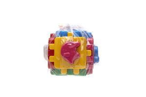 Іграшка для дітей від 3років №1943 Куб Свійські тварини Розумний малюк Технок 1шт