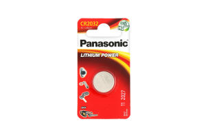 Батарейки CR2032 Lithium power Panasonic 1шт