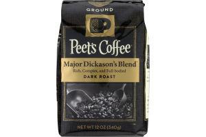 Peet's Coffee Major Dickason's Blend Dark Roast Ground Coffee