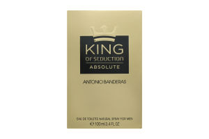 Antonio Banderas King Seduction Absolute чол.т/вода 100мл
