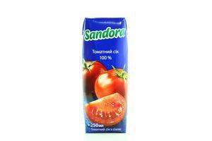 Сок Sandora Томат 0,25л
