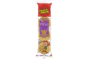 Keebler PB 'n J Sandwich Crackers