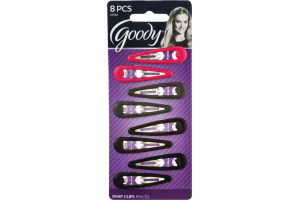 Goody Snap Clips - 8 CT