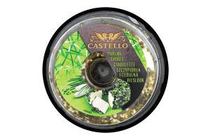 Крем-сир 65% з пікантною цибулею Castello п/у 125г