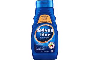 Selsun Blue Dandruff Shampoo Sensitive Scalp Gentle Scent